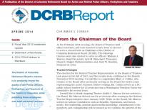 DCRB Spring 2014 Report Newsletter