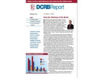 DCRB Spring 2013 Report Newsletter